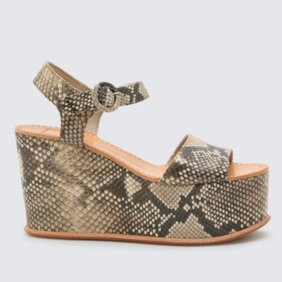 5caf78db7ad6 Dolce Vita Shoes - Dolce Vita Datiah Multi Faux Snake Skin Wedges